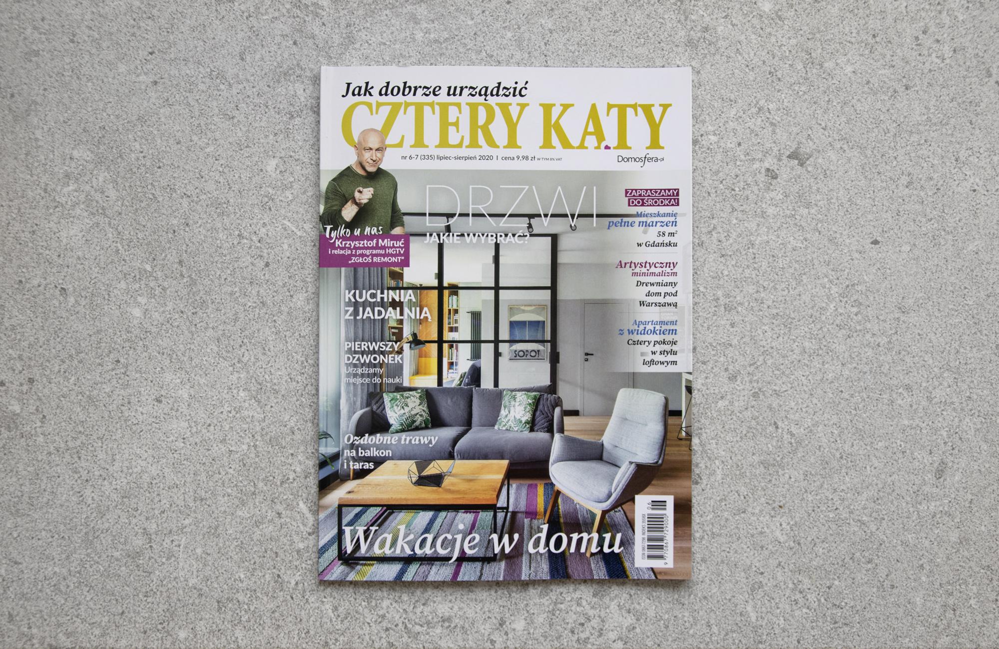 Publication of Quarta project in Cztery Katy